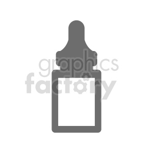 medicine bottle vector graphic clipart. Commercial use image # 415605