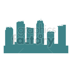 vector city skyscrapers clipart clipart. Commercial use image # 415654