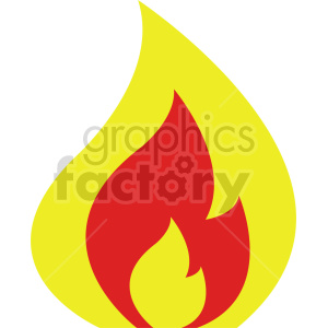 fire vector graphic clipart. Commercial use image # 415798