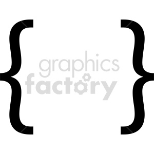 clipart - graffa symbol vector clipart.