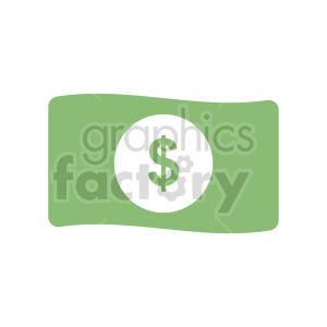 vector dollar design clipart. Commercial use image # 415894