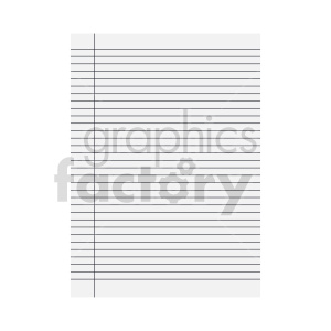 blank line ruled paper vector clipart clipart. Commercial use image # 415914