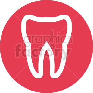 teeth icon vector clipart. Commercial use image # 415992