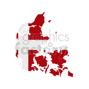 denmark flag vector graphic design clipart. Commercial use image # 416065