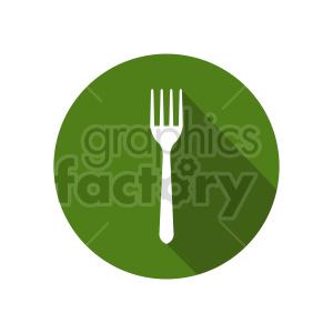 fork vector clipart