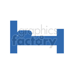 bedframe vector clipart clipart. Commercial use image # 416277