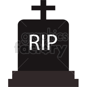 rip tombstone icon clipart. Commercial use image # 416334