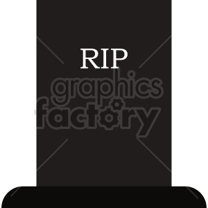 rip tombstone clip art clipart. Commercial use image # 416338