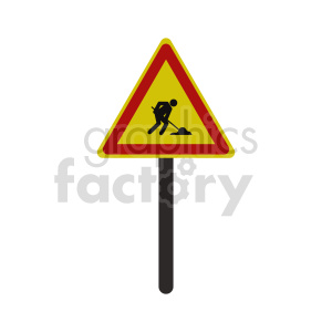 working street sign vector clipart clipart. Commercial use image # 416387