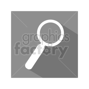 magnifying glass vector graphic clipart. Commercial use image # 416472