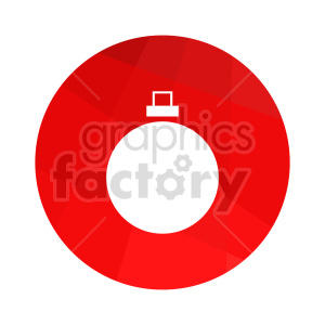christmas decoration vector icon clipart. Commercial use image # 416551
