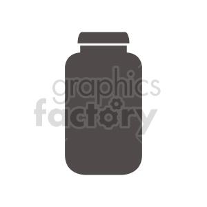 clipart - jar vector clipart.