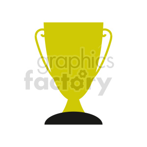 trophy vector clipart clipart. Commercial use image # 416562