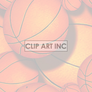background backgrounds tiled bg sports basketball basketballs   092905-basketball_light backgrounds tiled