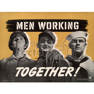 war posters world II   MPW00032 Clip Art Old War Posters
