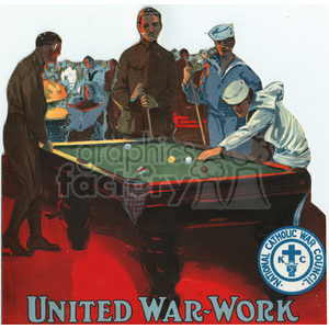 war posters world II   MSP00808 Clip Art Old War Posters