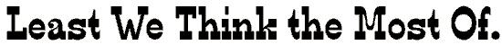 edmunds font. Royalty-free font # 174789