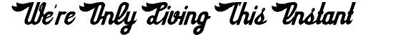 sloegin font. Royalty-free font # 174899