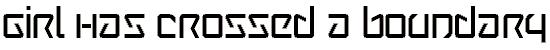 wintermu font. Royalty-free font # 174936
