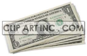 money clipart. Commercial use image # 177403