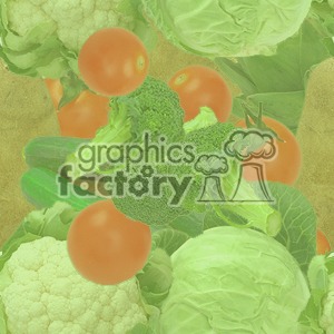 tiled vegetable background clipart. Royalty-free image # 371307