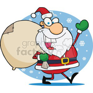 Jolly old Saint Nicholas clipart. Royalty-free image # 377833
