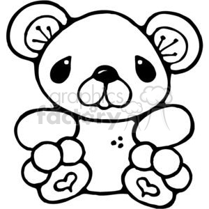 Tiny Teddy Bear clipart. Commercial use image # 380235