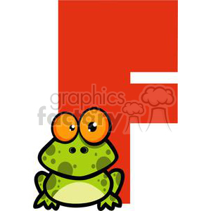 2750-Funny-Cartoon-Alphabet-F clipart. Commercial use image # 380520
