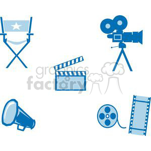 2791-Movie-Set clipart. Royalty-free image # 380530