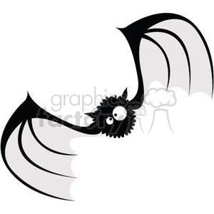 silly vampire bat clipart. Commercial use image # 380814