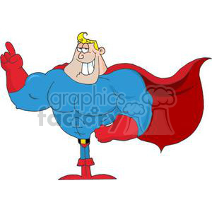 Super Hero clipart. Commercial use image # 380890