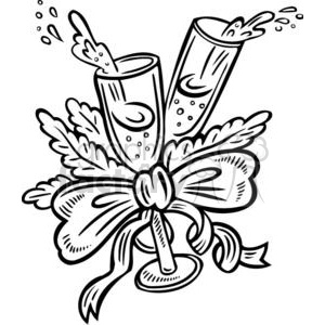 New Years Eve clipart. Commercial use image # 381054