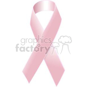 pink breast cancer ribbon clipart. Royalty-free image # 381636