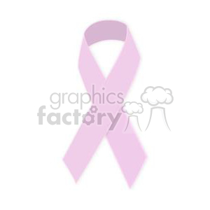 pink ribbon clipart. Royalty-free image # 381646