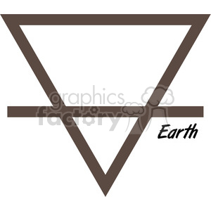 Earth symbol clipart. Commercial use image # 384825