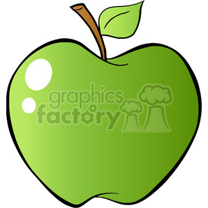 12930 RF Clipart Illustration Green Apple 12927 RF Clipart Illustration Red Apple In Gradient clipart. Royalty-free image # 385087