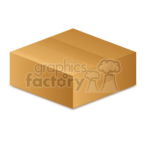 closed box clip art clipart. Royalty-free image # 385507