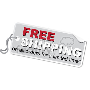 free-shipping-vector-tag-001 clipart. Royalty-free image # 385577