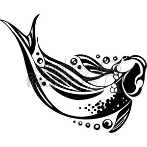 abstract fish 075 clipart. Royalty-free image # 386022