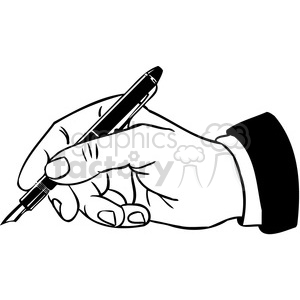 office business hand writing 088 clipart. Royalty-free image # 386042