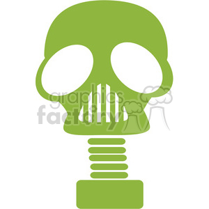 gas mask icon clipart. Royalty-free image # 386082