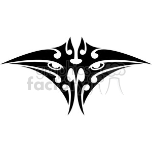 tribal masks vinyl ready art 008 clipart. Commercial use image # 386421