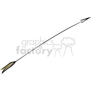 single arrow clipart. Royalty-free image # 173706
