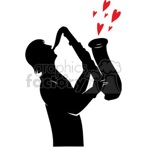 love of music clipart. Royalty-free image # 386646