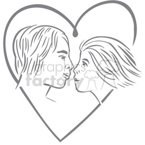 people in love clipart. Commercial use image # 386706