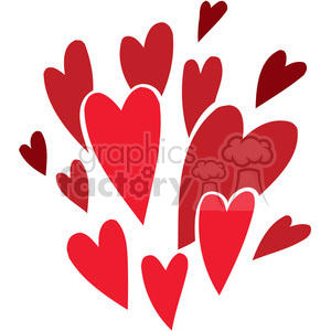 vibrant love clipart. Commercial use image # 386716