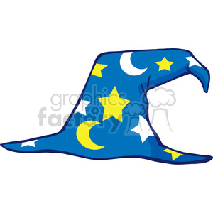 Clipart of Wizard Hat clipart. Royalty-free image # 386884