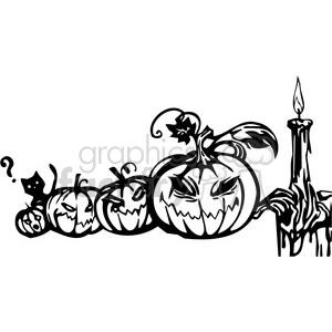 Halloween clipart illustrations 001