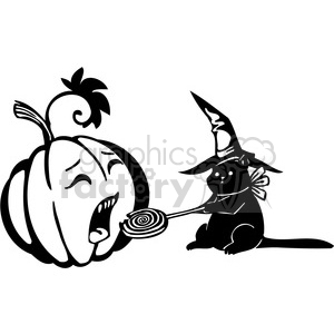 Halloween clipart illustrations 033