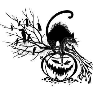 Halloween clipart illustrations 005 clipart. Royalty-free image # 387064